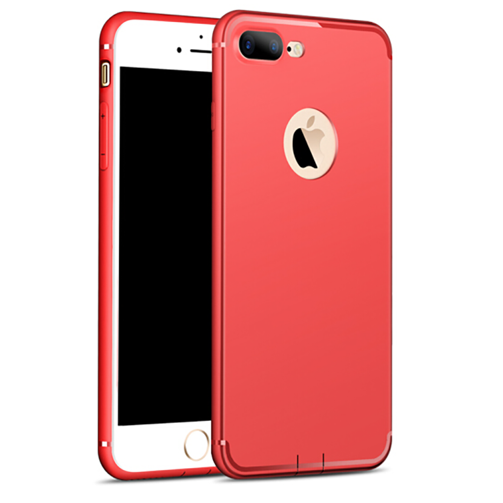 Coque TPU Ultra Slim Hybride iPhone 8/7/6/6S/PLUS/X/XR/XS/Max/5/SE+ Verre Trempé 6
