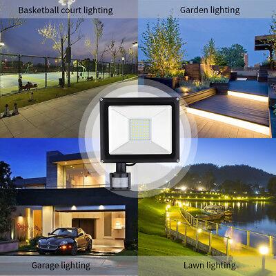 PIR 20W 30W 50W Outdoor Security LED Floodlight Outside Garden Wall Motion Light 6