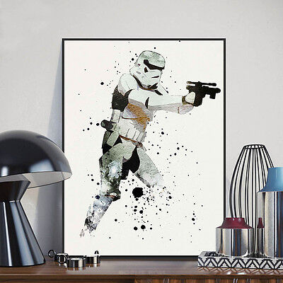 Stormtrooper Star Wars Movie Poster Print Wall Art Canvas Painting Home Decor 2