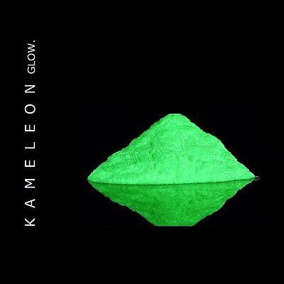 Glow in the Dark Powder (Yellow - Green) 6