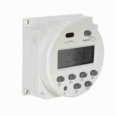 DC 12V 16A Mini LCD Digital Programmable Control Power Timer Switch Time Relay 3