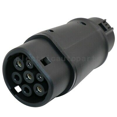 Electric Vehicle Car Charger SAE J1772 32A 240V Connector Socket Charging Plug 4