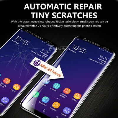 HYDROGEL AQUA Screen Protector Samsung Galaxy S10 5G S9 S8 Plus Note 8 9 S7 Edge 3