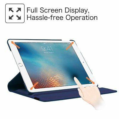 360 Rotate Leather Case Cover For Apple iPad 2 3 4 5 6 Air 1 2 Mini Pro New 9.7 6