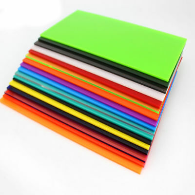 Color Acrylic Sheet Plate Plastic Plexiglass Panel 8x8/10x20/15x15/20x20/30x40cm 10