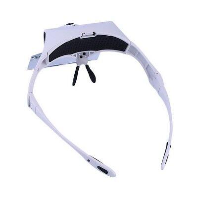 Lupa de Relojero Joyero Reparar Electrónica Soldar precisión gafas para Leer 5
