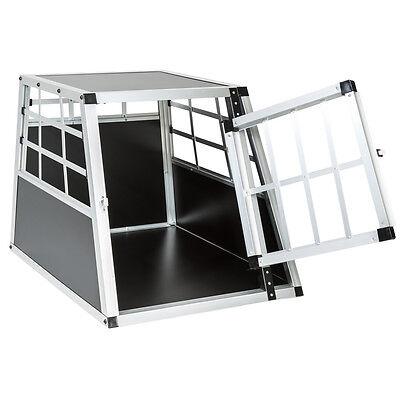 Cage box caisse de transport chien mobile aluminium single 3