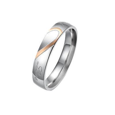 2 Neue Silber Partnerringe Verlobungsringe Freundschaftsringe Trauringe Eheringe