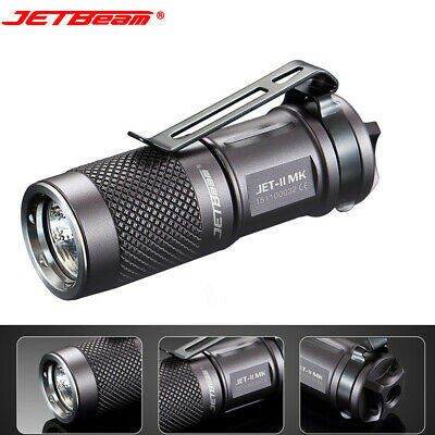 JETbeam Portable 510 Lumens JET II MK XPL HI LED Flashlight  Waterproof Torch 11