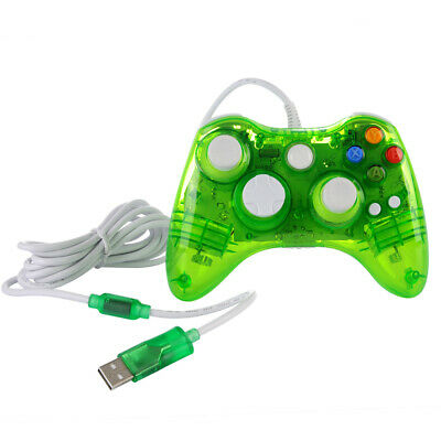 Wired / Wireless Game USB Controller Gamepad Joystick For Microsoft Xbox 360 &PC 10