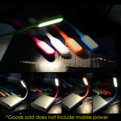 Flexible Mini USB LED Light Lamp For Computer Notebook Laptop Reading Bright