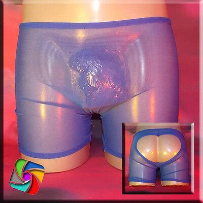 Boxer Transparent mit dem besonderen Popo - Das erotische Etwas - Lila (77) 2