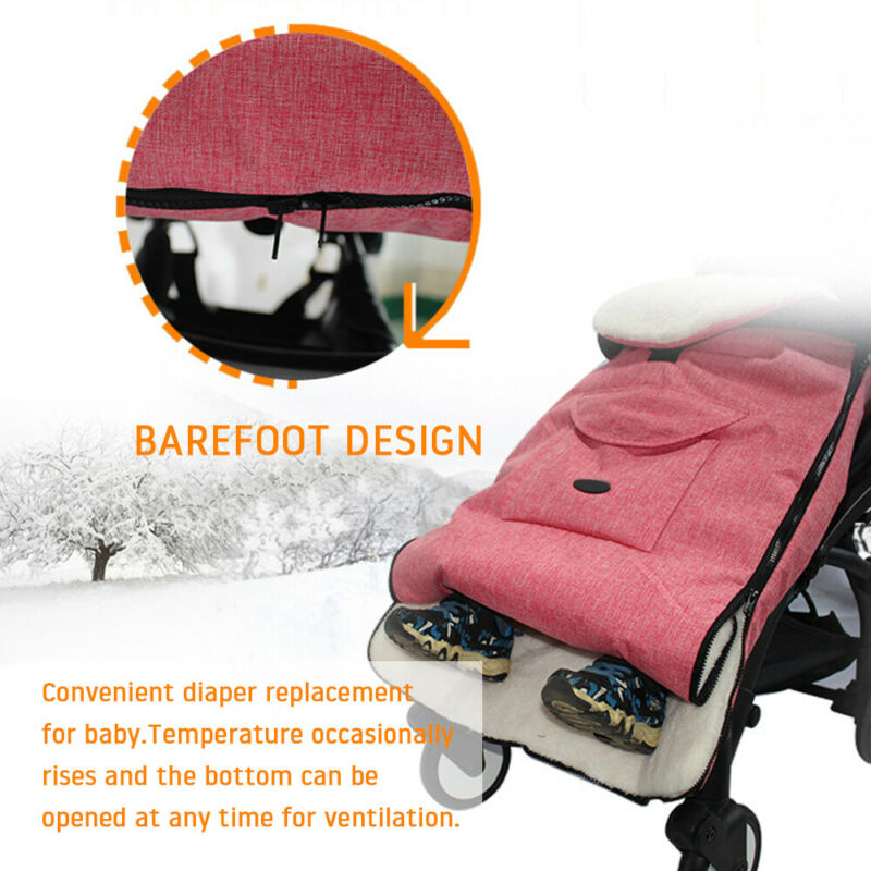 Universal Footmuff Pushchair Baby Cosy Toes Toddler Buggy Stroller Pram Long New 5