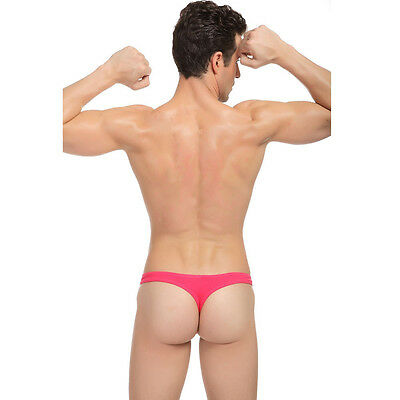Slip String Rouge M L Xl Sexy Homme Viril Thong Man Red Underwear Uomo Lenceria 3