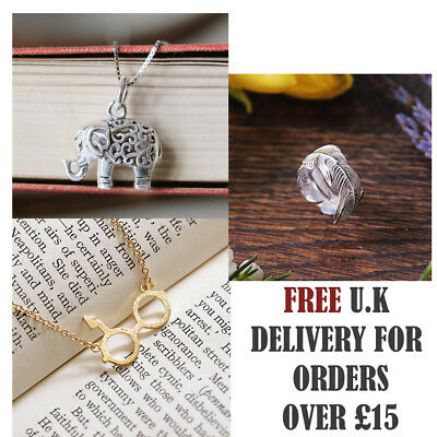 Gold Silver Plated Conch Fossil Ammonite Shell Necklace Pendant Nautical 8