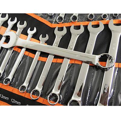 NDI Combination Spanner Set 30 Piece Chrome Vanadium Steel Metric & Imperial 2