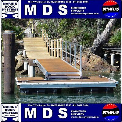 Pontoon Floats Boat House Poly Float Flotation Hull 650 Floating Jetty Marine