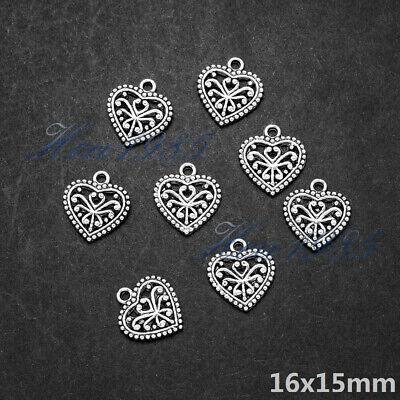 Wholesale Tibetan Silver Metal Charms Pendants Loose Spacer Beads Jewelry Making 8