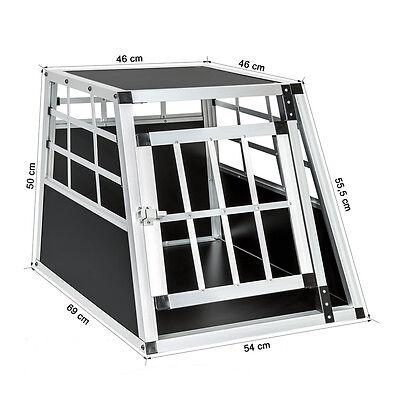 Cage box caisse de transport chien mobile aluminium single 6