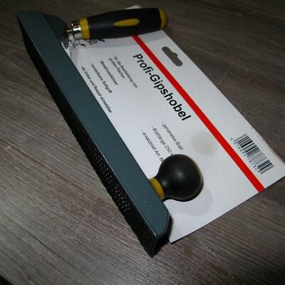 Profi Gipshobel GPK Hobel Rigips Gipskartonhobel Gipskarton 250 mm NEU 348