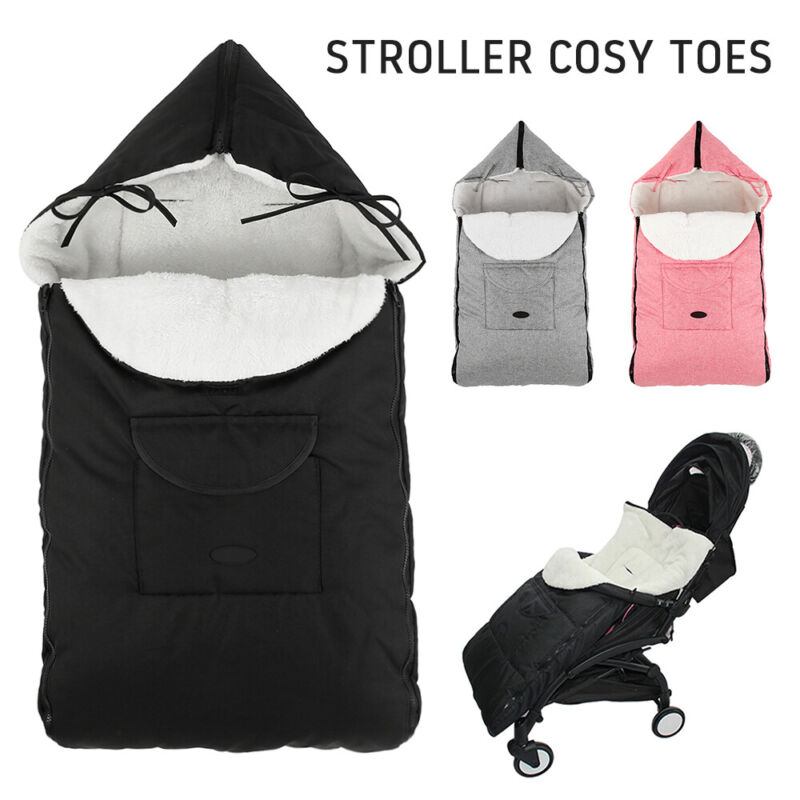 Universal Footmuff Pushchair Baby Cosy Toes Toddler Buggy Stroller Pram Long New 3