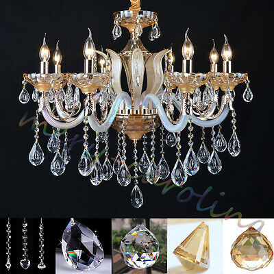 Wholesale crystal glass prisms part chandelier lamps hanging pendant 1 of 10free shipping wholesale crystal glass prisms part chandelier lamps hanging pendant beads decor aloadofball Gallery