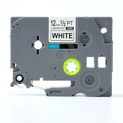 2 Pk Compatible Label Maker Tape 12mm for Brother P-Touch TZ-231 TZe-231 PT-D210