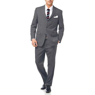 Abito Da Uomo Classico Elegante + Pochette + Cravatta Sartoria Conte Calavolpe 8