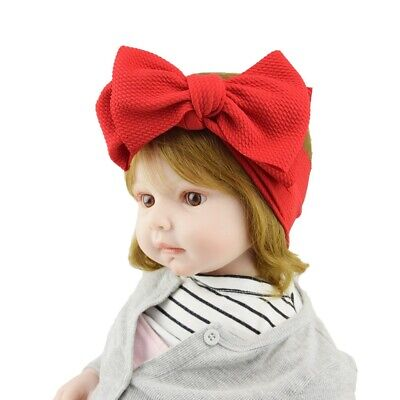 Baby Rabbit Headband Cotton Elastic Bowknot Hair Band Girls Bow-knot Newborn Bow 2