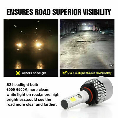 9006 9005 Hi Low Beam COB LED Headlight for Honda Accord 90-2012 Civic 2004-2015 9