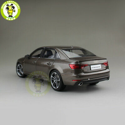 1//18 Audi A4L A4 Diecast Metal Car Model Toy Boy Girl Gift Collection Brown