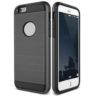 Dustproof Shockproof Slim Brushed Hybrid Rubber Hard Case For iPhone 5 5s SE 12