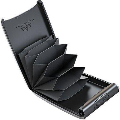75f62e66e51c1 ... TRU VIRTU Aluminium Kreditkarten Etui Visitenkarten ec Kartenetui Card  Case Neu 2