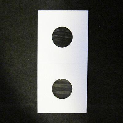 (200) Penny Size 2x2 Mylar Cardboard Coin Flip for Storage | 1 Cent Paper Holder 2