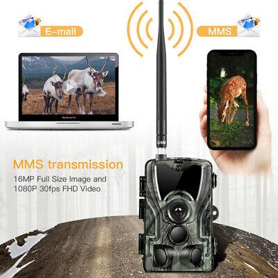 1080P Caméra de Chasse Caméra de Surveillance IR HD Nuit Vision GSM/MMS/SMTP/SMS 3
