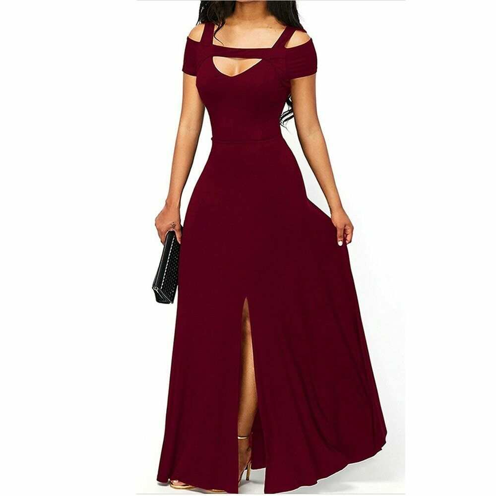 Vestidos Largos De Moda Para Mujer Elegantes Formales Prom