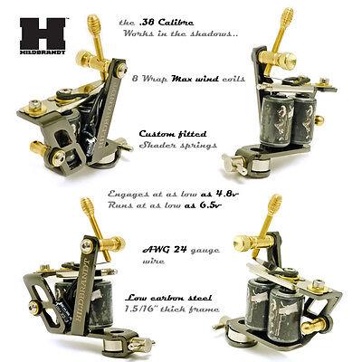 Complete Tattoo Kit HILDBRANDT TRAINER Tattoo machine GUN guns machines INK
