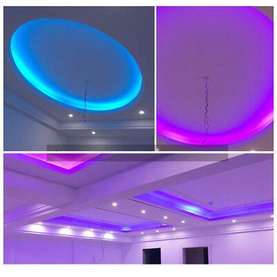 1-15M 5050SMD 230V RGB LED Stripe Set Lichtleiste Licht Schlauch Streifen IP65 8