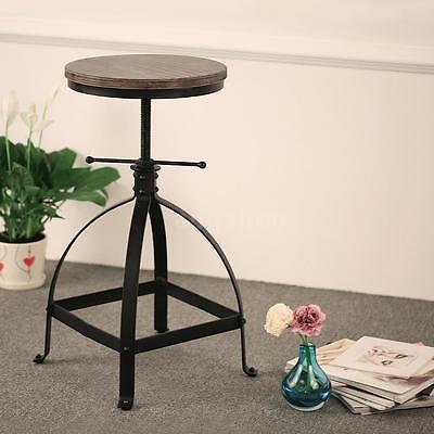 2x Cuisine salle à manger chaise ,bois tabourets de bar avec pieds en métal Z8D9 2