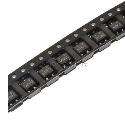 50Pcs MB6S 0.5A 600V Miniature Mini SMD Bridge Rectifier 2