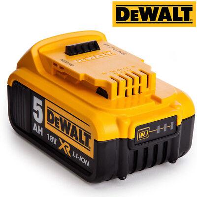 Dewalt DCB184 5.0ah 18v XR Lithium Ion Battery + DCB115 Charger 2