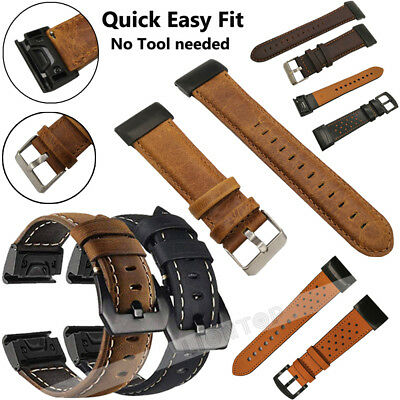 For Garmin Fenix 3 5 5X 5S Nylon/Silicone Strap Replacement Watch Band Bracelet 4