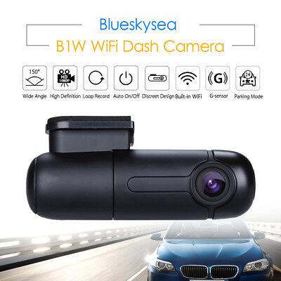 2 Set Blueskysea B1W 1080P WiFi App IMX323 Dash Camera Capacitor Car DVR Vehicle 3