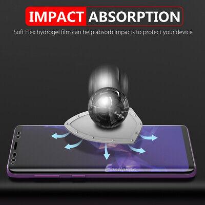 Samsung Galaxy S10 5G S9 S8+ S10e Note 10 9 8 HYDROGEL FLEX Screen Protector 7