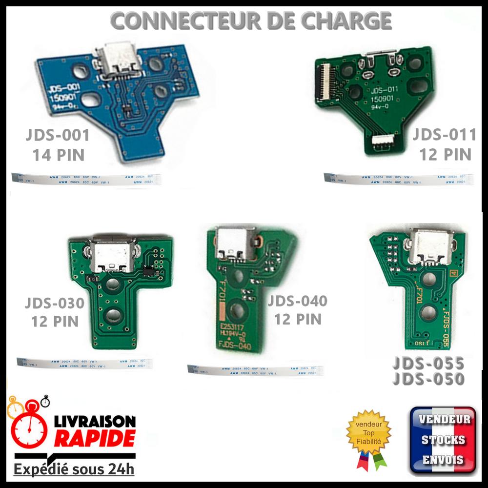 Connecteur de charge manette Playstation 4 JDS - 001 011 030 040 050 - 055  PS4 2