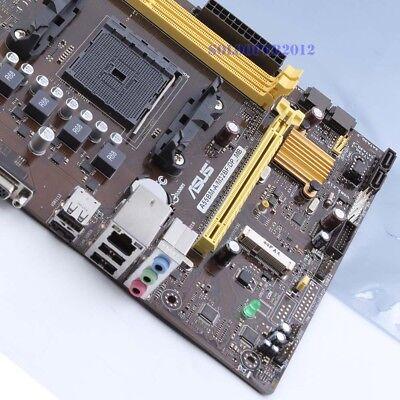 Original ASUS A55BM-A//M32BF//DP/_MB AMD A55 Motherboard Socket FM2 DDR3 USB 3.0