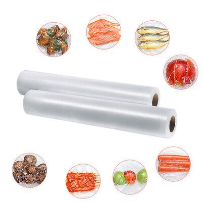 6 X 28Cm Vacuum Sealer Rolls Food Storage Saver Heat Seal Cryovac Commercial Bag 6