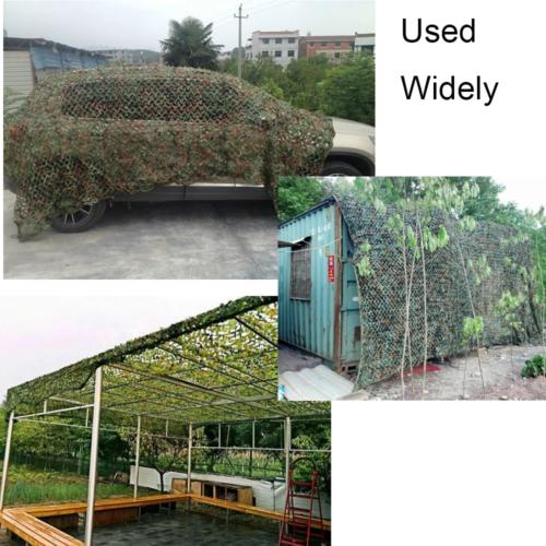 Jungle Filet de Camouflage net 7m/ 5m/ 3m Chasse Camping militaire Forêt hide FR 3