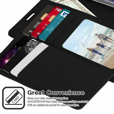Galaxy S10 S10e S10+ Plus S9 S8 Case  Goospery Wallet Leather Card Slot Samsung 6
