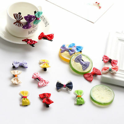 40pcs Baby Hair Clips Girls Kids Flowers Hair Clip Bow Hairpin Alligator Clips 4